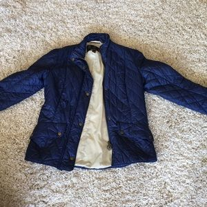 Barbour quilted coat US size 10